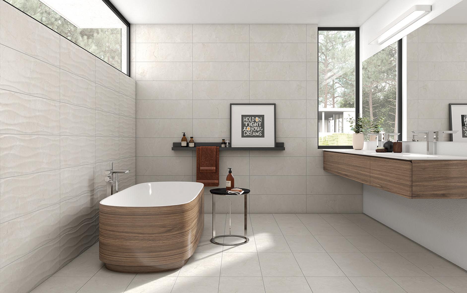 Badrumsinspiration – Produktsortiment av badrumsmöbler, kakel och klinker från ledande leverantörer.